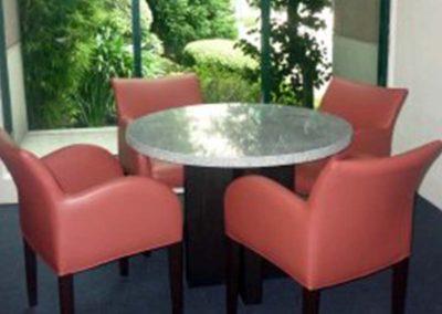 Mesa de Juego Toms con granito