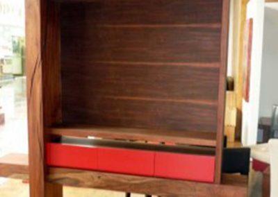 Mueble TV Semi-rústico